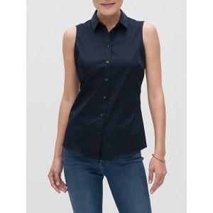 Tailored Sleeveless Shirt
