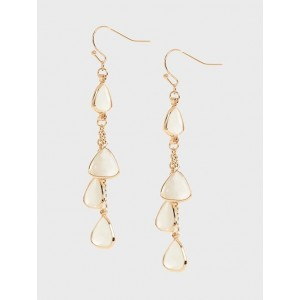 Multi Rounded Teardrop Earrings