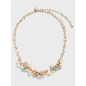 Beaded Cluster Necklace