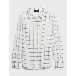 Petite Drapey Classic Shirt