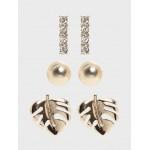 Palm Leaf Multipack Earrings