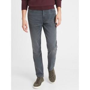Slim-Fit Grey Wash Travel Jean
