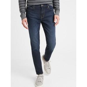Skinny Fit Dark Wash Travel Jean