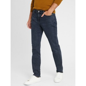 Slim-Fit Dark Wash Travel Jean