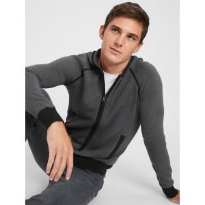 Birdseye Hoodie Sweater Jacket