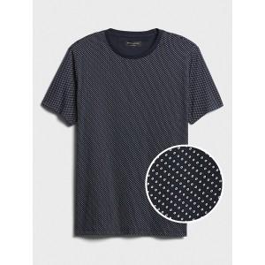 Microprint Dress T-Shirt