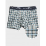 Organic Simple Plaid Boxer Briefs