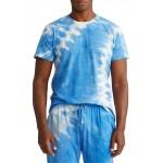 Short Sleeve Tie Dye Sleep Shirt