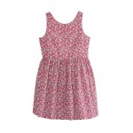 Toddler Girls Floral Cotton Poplin Dress