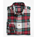 Boys Stewart Tartan Flannel Sport Shirt