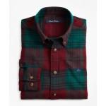 Boys Large Holiday Plaid Flannel Sport Shirt