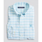 Boys Non-Iron Stretch Cotton Oxford Multi-Gingham Sport Shirt