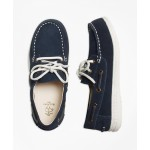 Boys Leather Boat Shoe