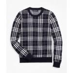 Boys Cotton Plaid Sweatshirt