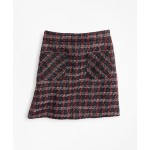Girls Tweed Boucle Skirt