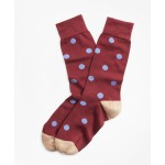 Polka Dot Crew Socks