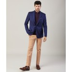 Regent Fit Two-Button Herringbone Blazer