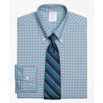 Original Polo Button-Down Oxford Regent Fitted Dress Shirt, Twin Check