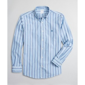 Luxury Collection Regent Fitted Sport Shirt, Button-Down Collar Stripe