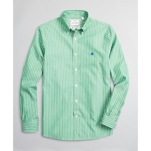 Luxury Collection Regent Fitted Sport Shirt, Button-Down Collar Bold Stripe