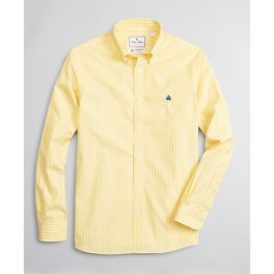 Luxury Collection Madison Classic-Fit Sport Shirt, Button-Down Collar Bold Stripe