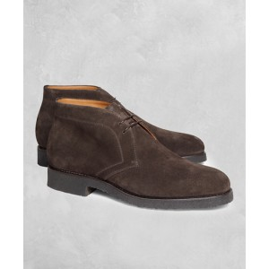 Golden Fleece Suede Chukka Boots