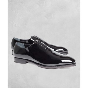 Golden Fleece Patent Leather Formal Shoes