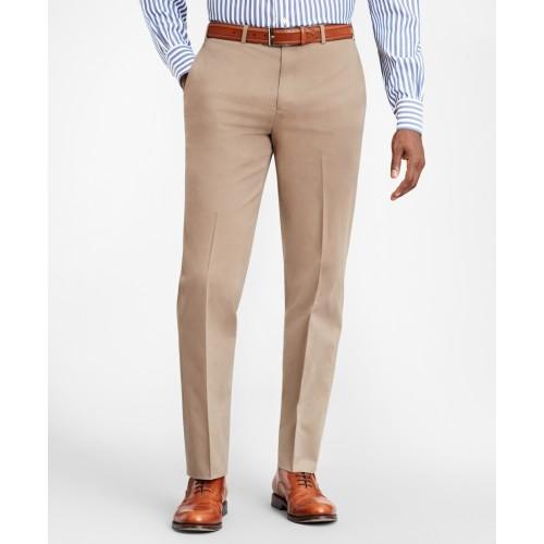 Regent Fit Stretch Supima Cotton Trousers