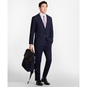Regent Fit BrooksCool Navy Suit