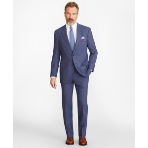 Madison Fit BrooksCool Subtle Plaid Suit