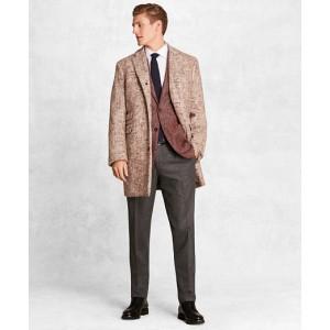Golden Fleece Merino Wool Brokenbone Topcoat