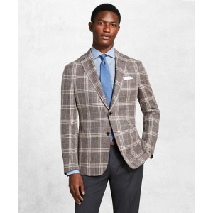 Golden Fleece Checked Twill Sport Coat