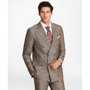 Regent Fit Double-Breasted Wool Blend Sport Coat