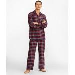 Red Plaid Flannel Pajamas