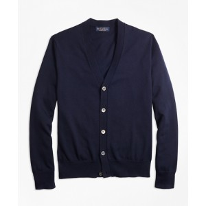 Supima Cotton V-Neck Cardigan