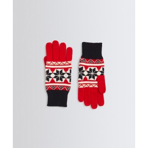 Fair Isle Merino Wool Gloves