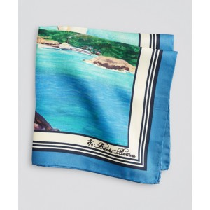 Limited Edition Archival Collection Spring 1982 Silk Pocket Square
