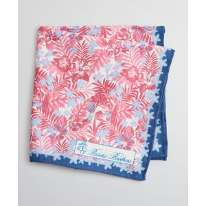 Tropical Print Pocket Square