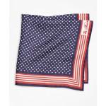 Stars and Stripes Pocket Square