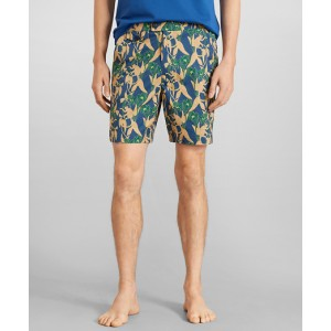Newport 7 Monkey Print Swim Trunks