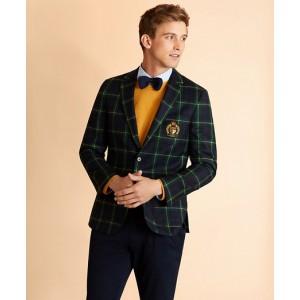 Wool-Blend Gordon Tartan Sport Coat