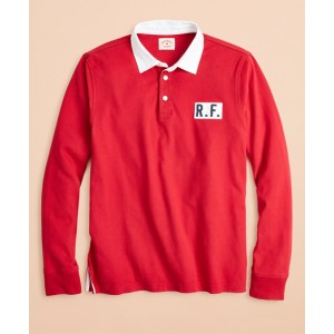 Cotton Jersey Logo Rugby Shirt