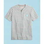Head Of The Charles Regatta Striped Jersey Short-Sleeve Henley