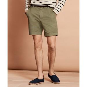 Garment-Dyed Stretch Chino 7 Shorts