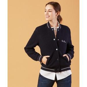 Wool-Cotton Varsity Jacket