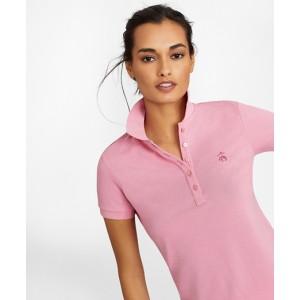 Stretch Supima Cotton Pique Polo Shirt