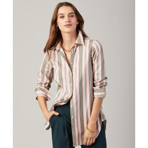 Classic-Fit Multi-Stripe Luxury Shirt