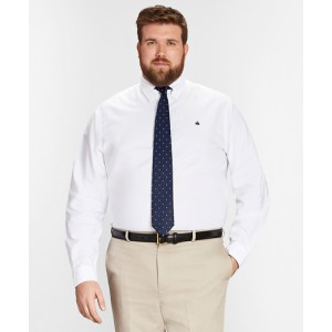 Non-Iron Big & Tall Oxford Sport Shirt