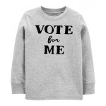 Vote For Me Jersey Tee