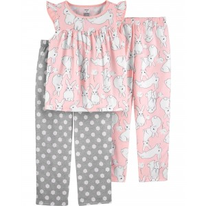 3-Piece Loose Fit PJs